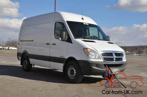 2007 Dodge Sprinter 3Dr Cargo Van CRD