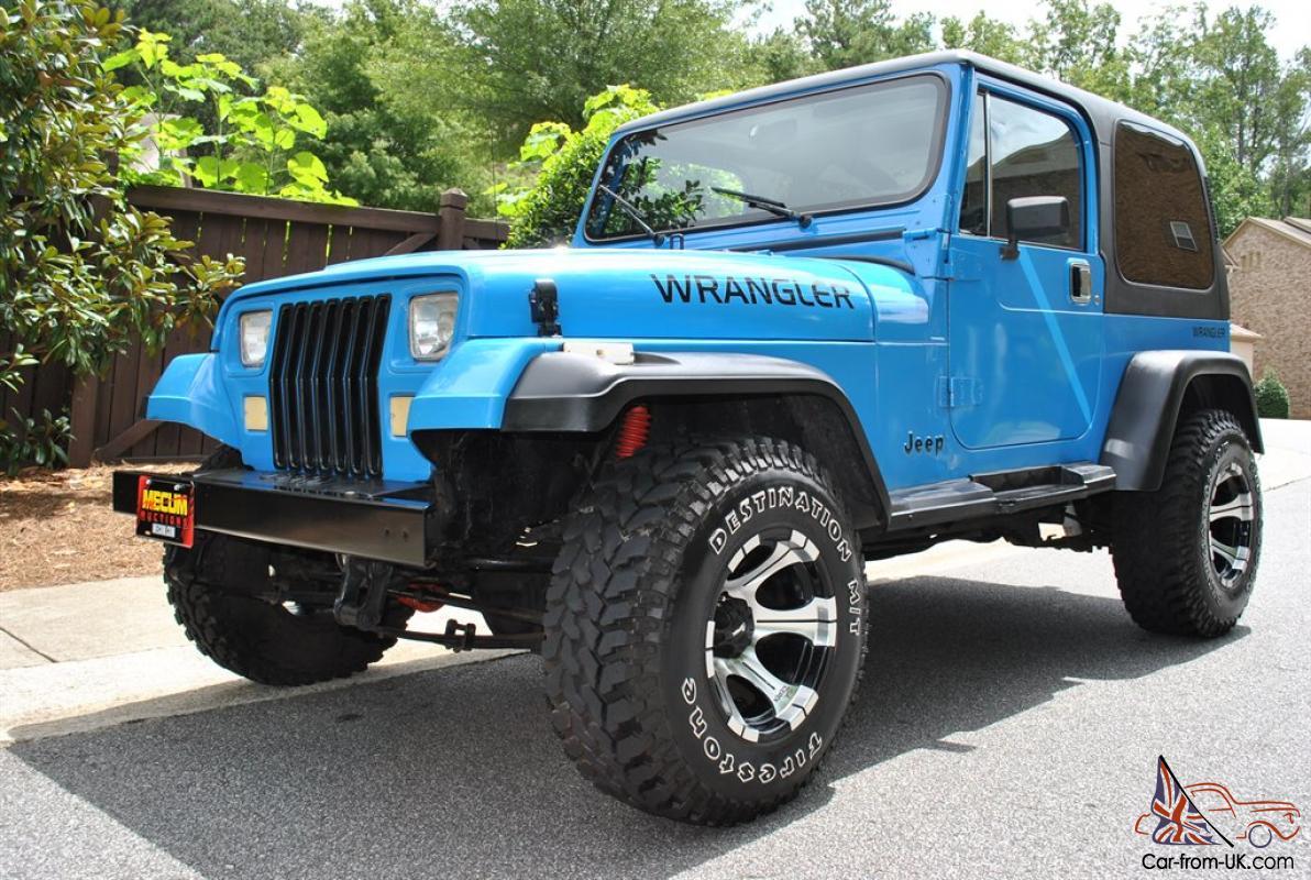V8 Jeep Wrangler >> 1989 Jeep Wrangler V8 Conversion