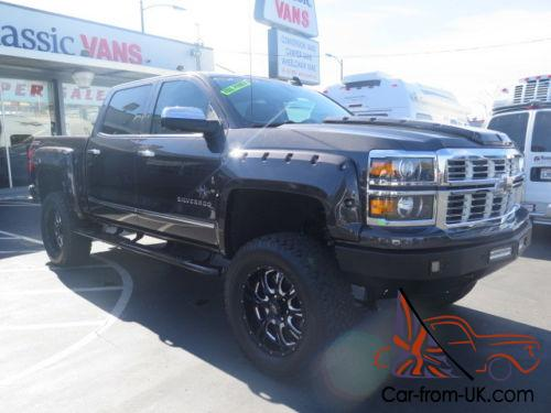 2015 Chevrolet Silverado 1500 Black Widow