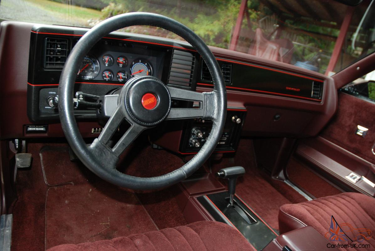 1986 Chevrolet Monte Carlo SS | eBay