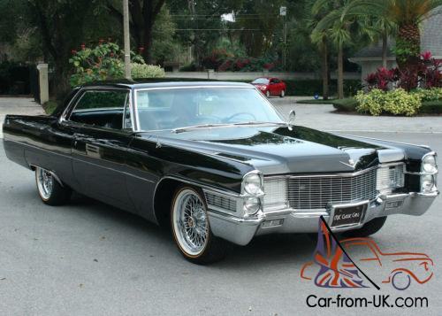 1965 Cadillac Deville Coupe Show Car Air Ride 34k Mi
