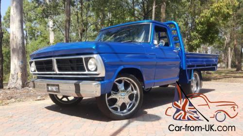 1970 Ford F100 V8 Ute FULLY RESTORED - NO RESERVE