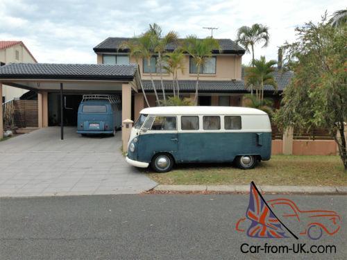 VW Kombi 1966,split window, beetle swing axle, drop spindles,1600 TP engine