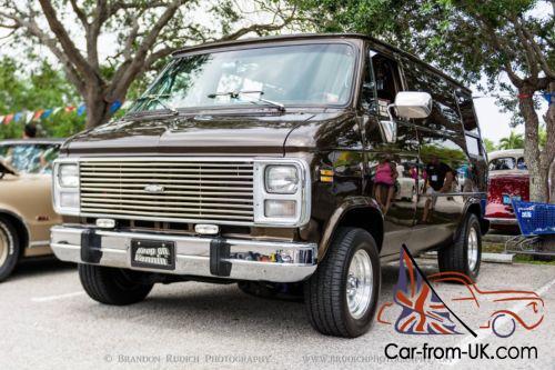 1983 Chevrolet G20 Van shorty