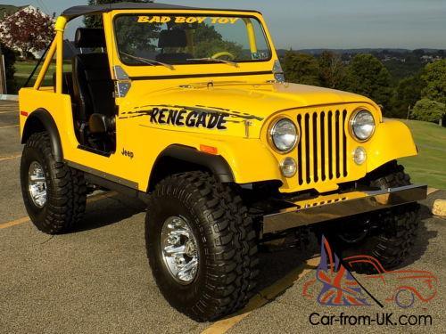 Jeep Wrangler Renegade >> 1978 Jeep Wrangler Renegade