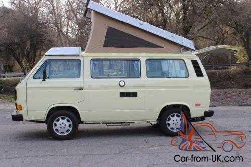 1984 Volkswagen Bus/Vanagon Vanaru Subaru 2 5 Imprezza Conversion