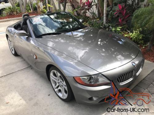 2004 BMW Z4 3.0i SMG CONV 1 OWNER LOW MILES