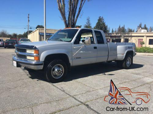 1995 Chevrolet Silverado 3500 No Reserve 4x4 Dually 83k Miles 105 Pics Hd Video