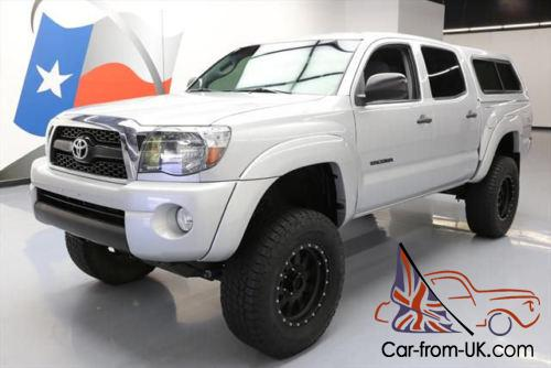 Toyota Tacoma Camper Shell For Sale >> 2011 Toyota Tacoma 4x4 V6 Dbl Cab Lift Camper Shell