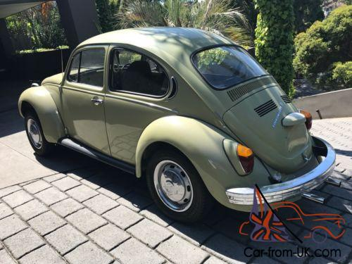 1971 vw beetle superbug 1600cc, rebuilt engine, extensive history,manual,classic  photo