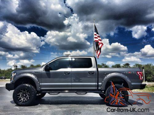 2016 Ford F150 Lifted >> 2016 Ford F 150 Custom Lifted Leather Go Rhino Winch