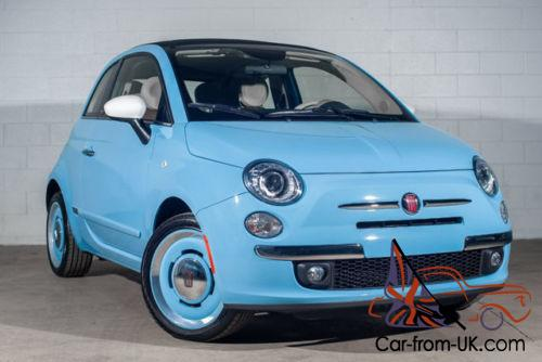 2015 Fiat 500 2dr Convertible 1957 Edition