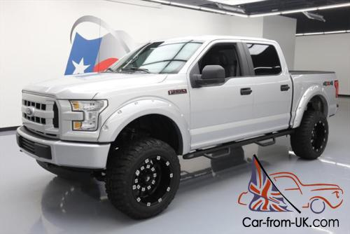 2016 F150 Lifted >> 2016 Ford F 150 5 0 Crew 4x4 Lift Conversion Leather