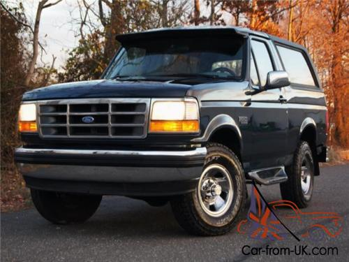 1994 ford bronco xlt car from uk com
