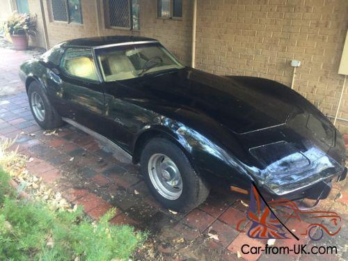 76 Chevrolet Corvette STINGRAY (Black) CHEAP for Quick Sale