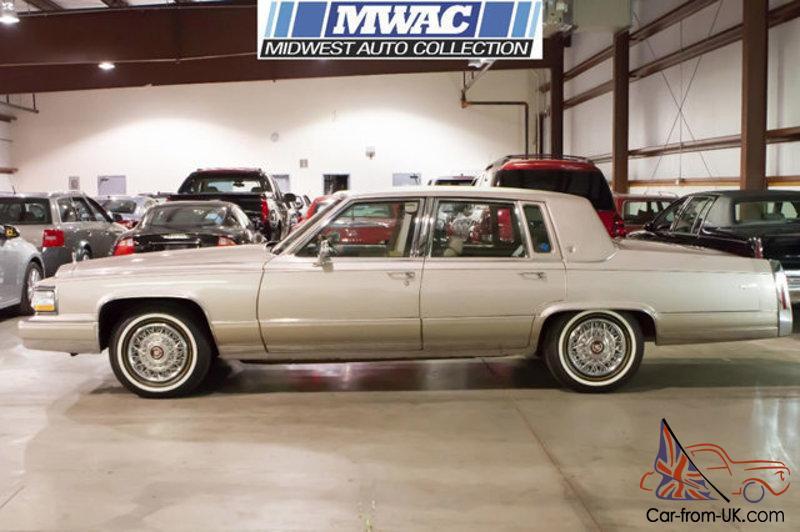 1991 Cadillac Brougham >> 1991 Cadillac Brougham 4dr Sedan