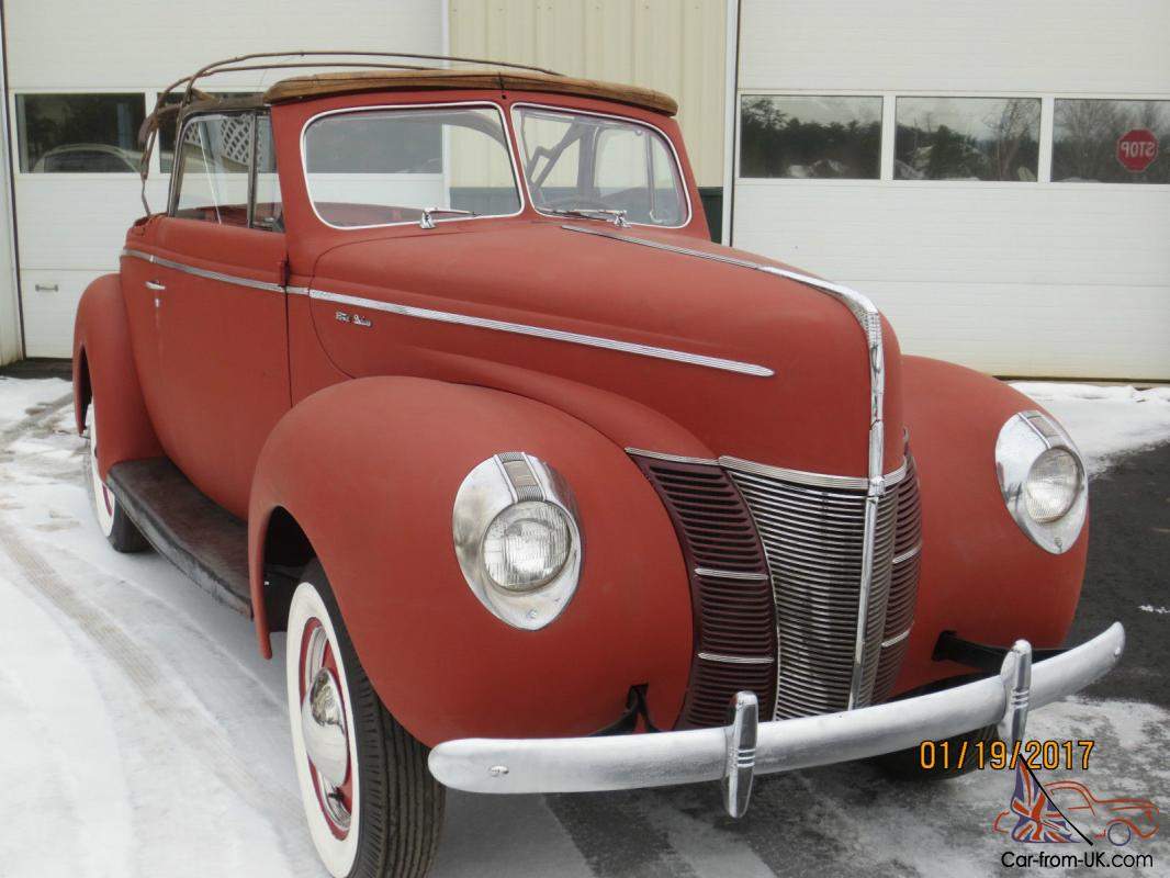 1940 Ford Convertible Ebay