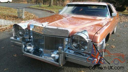 1974 Cadillac DeVille COUPE DE VILLE