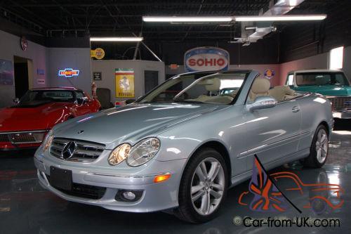 2007 Mercedes Benz Clk Cl Cabriolet