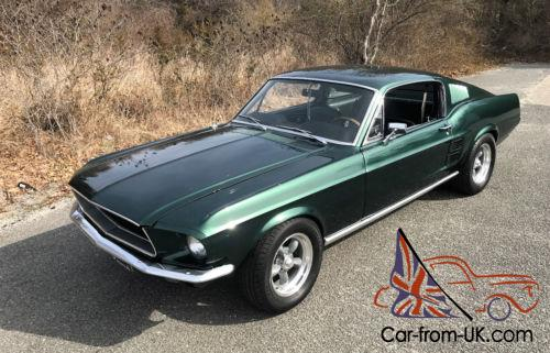 1967 Mustang Fastback >> 1967 Ford Mustang 1967 Mustang Fastback Bullitt Fast Back 289 V8 Nj