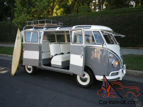 1965 Volkswagen Bus Vanagon Rag Top