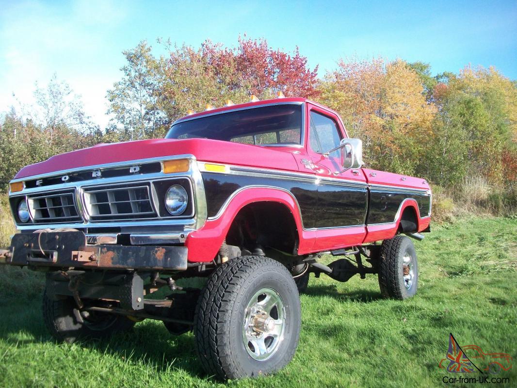 1977 Ford Ranger Xlt 4x4 Ebay