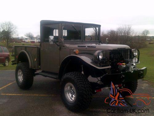 Dodge Power Wagon For Sale >> 1955 Dodge Power Wagon