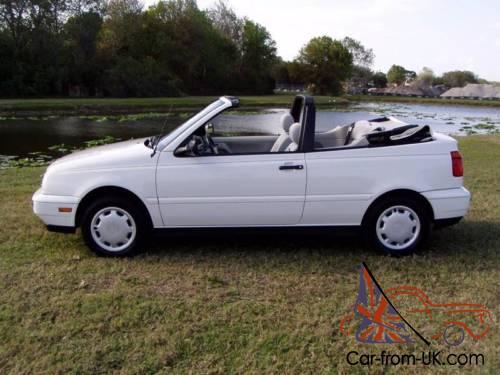 1997 Volkswagen Cabrio Base 2dr Convertible