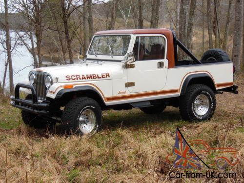 1982 Jeep Scrambler Sl