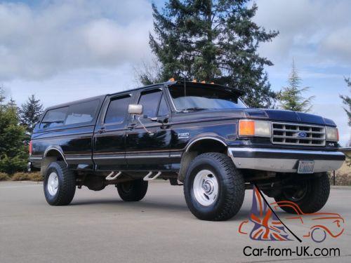 1987 Ford F150 >> 1987 Ford F 350 Ford F150 F250 F350 Crew Cab 4x4 Highboy Rust Free