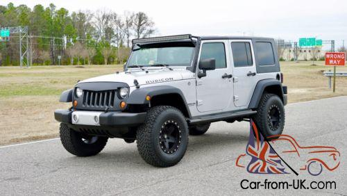 Jeep Wrangler Lifted >> 2008 Jeep Wrangler Lifted Jk Low Miles 4 Door Rubicon Carfax