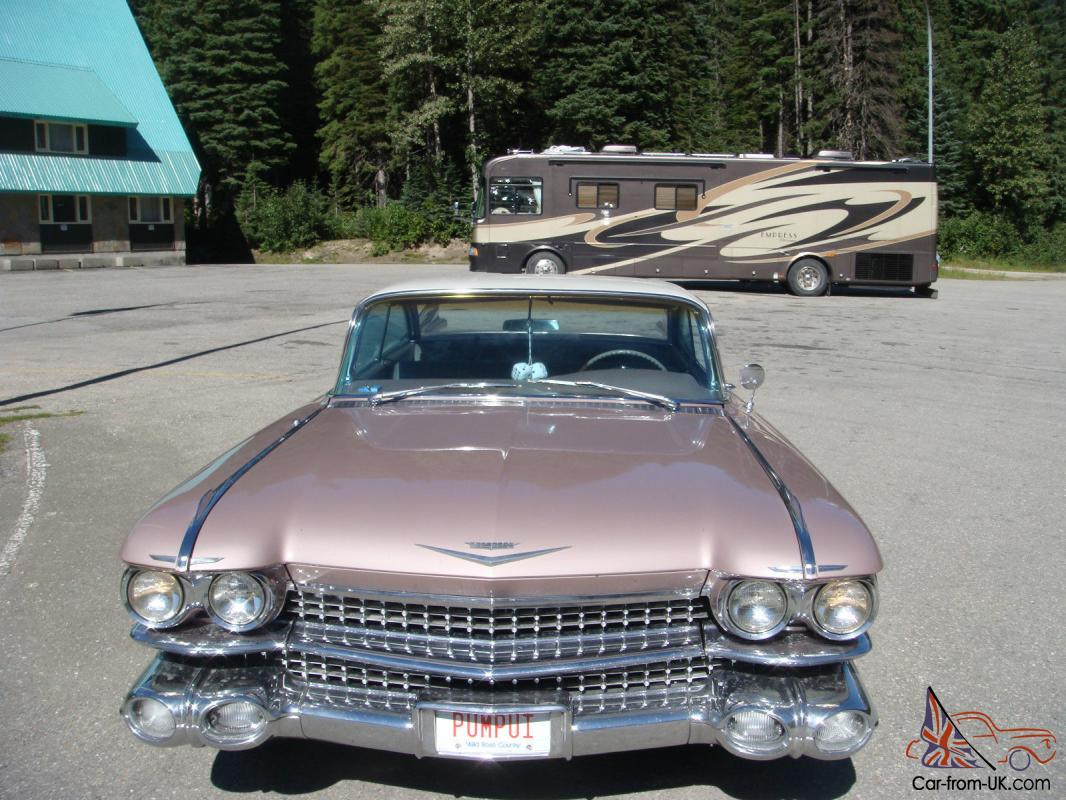 1959 Cadillac 2 Door Coupe some Deville chrome   eBay