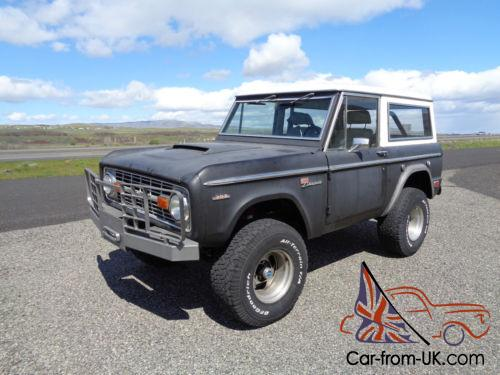 1969 Ford Bronco Sport For Sale
