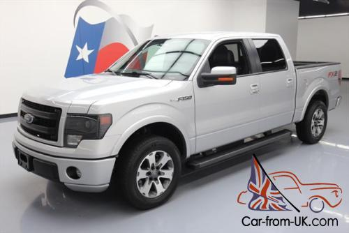 2013 Ford F 150 Fx2 Sport Crew 5 0l Climate Leather