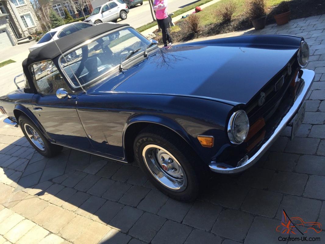 1973 Triumph TR-6 Convertible | eBay