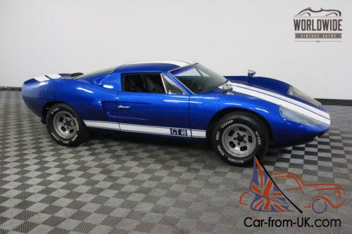 Ford Gt40 Replica For Sale >> 1965 Ford Gt40 Replica American Race History Tribute