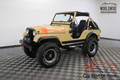 Lifted Jeep Renegade >> 1977 Jeep Renegade Fully Restored Lifted 4x4 Two Tops