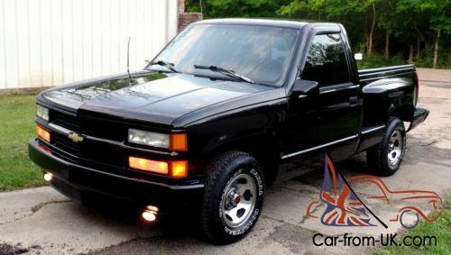 1996 Chevrolet Silverado 1500 38k Sport Truck C K 1500 Silverado C10 Sierra Ss