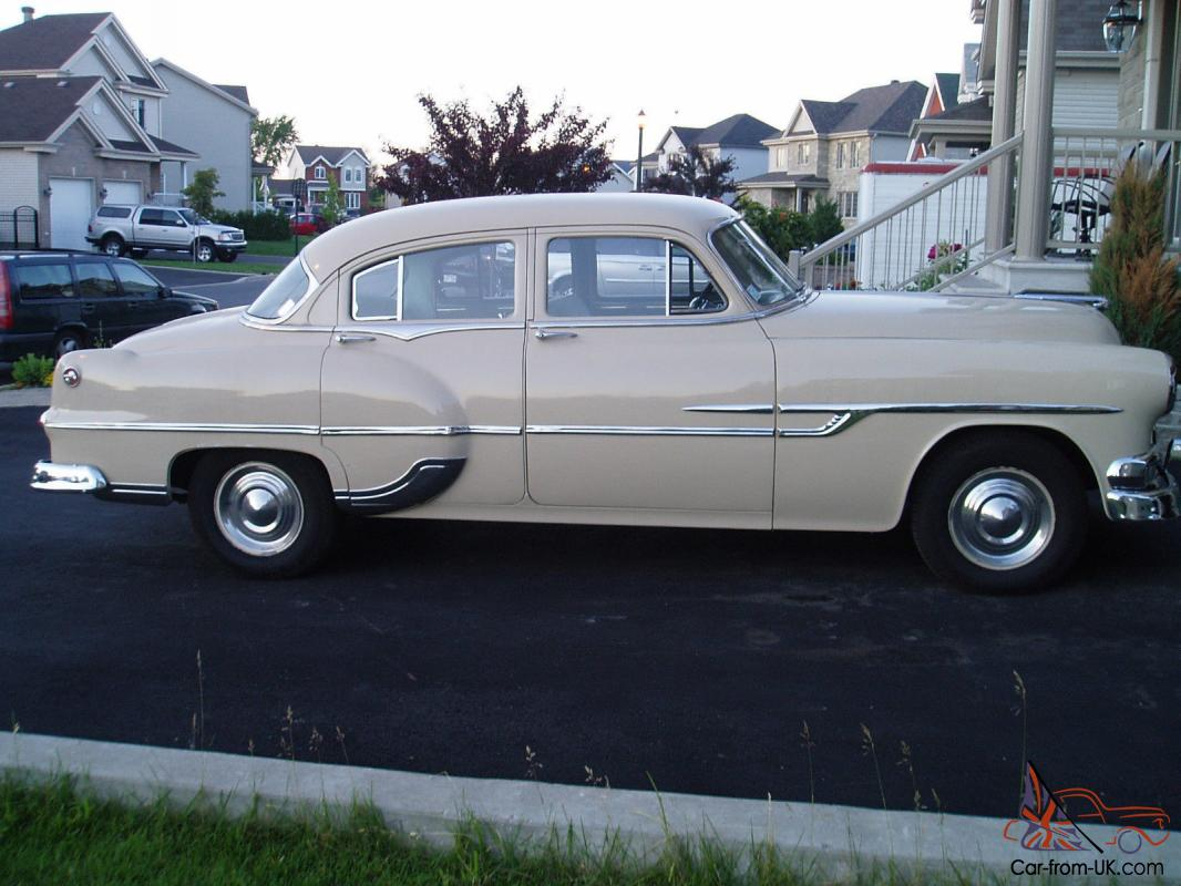 1953 Pontiac Chieftain 4 Door Ebay