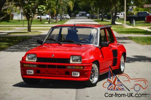 1980 Renault R5 Turbo 2 Le Car Le Fast