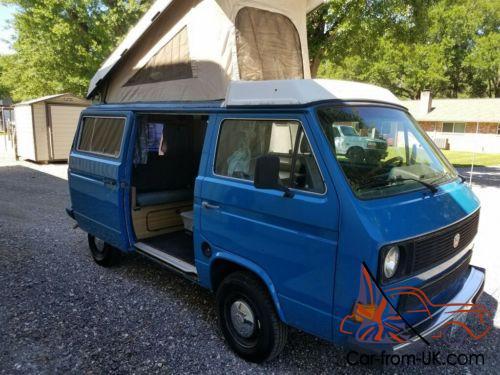 Vw Eurovan Camper >> 1984 Volkswagen Eurovan Camper Van