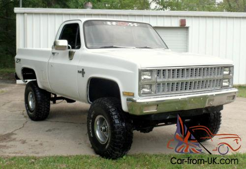 1982 Chevrolet C 10 Frame Off 454 4x4 K10 K15 Truck Chevy Silverado