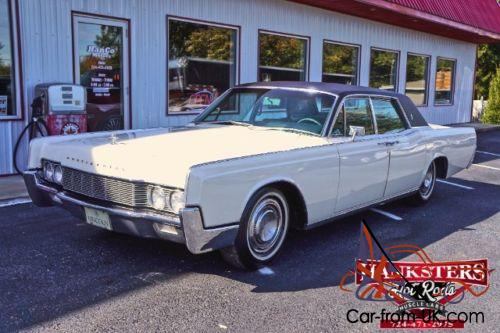 Used Lincoln Continental Year 1967 133 576 Km Reezocar