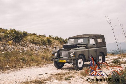 1975 Land Rover Other Canvas roof