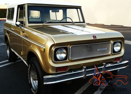 1970 International Harvester Scout #S MATCHING SR2 SPECIAL EDITION