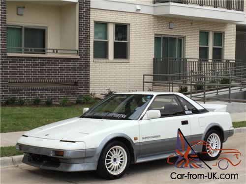 Toyota Mr2 1987 >> 1987 Toyota Mr2 G Limited Supercharged