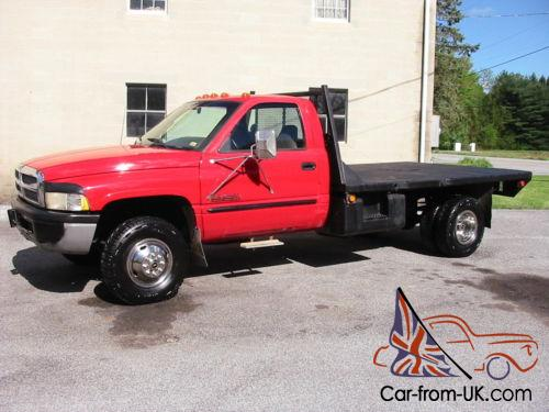 1996 dodge ram 3500 cummins 12 valve 5 speed flatbed 1996 dodge ram 3500 cummins 12 valve 5