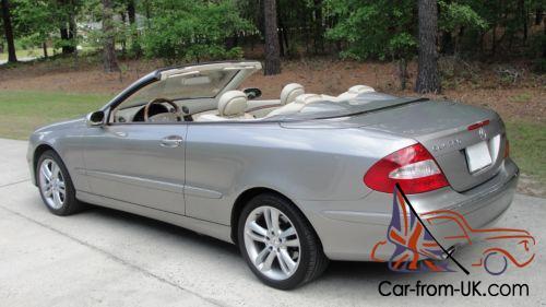 2006 Mercedes Benz Clk Cl Convertible
