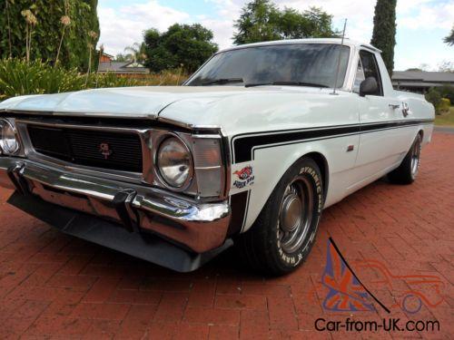 1970 XW FORD FALCON GT REPLICA UTILITY
