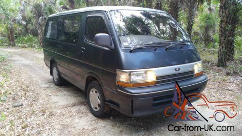Toyota Hiace 4x4 Camper